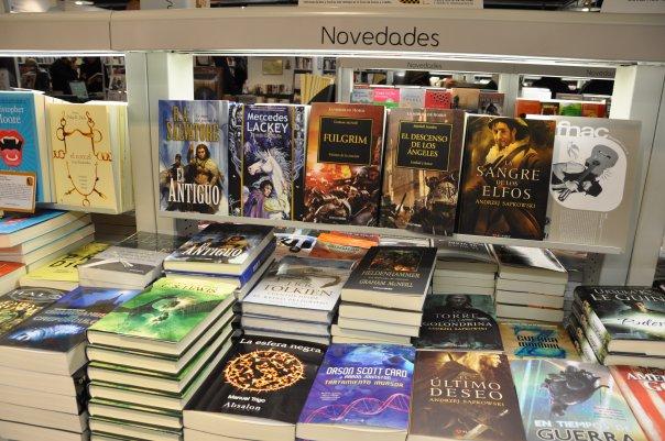 La novela La esfera negra en FNAC